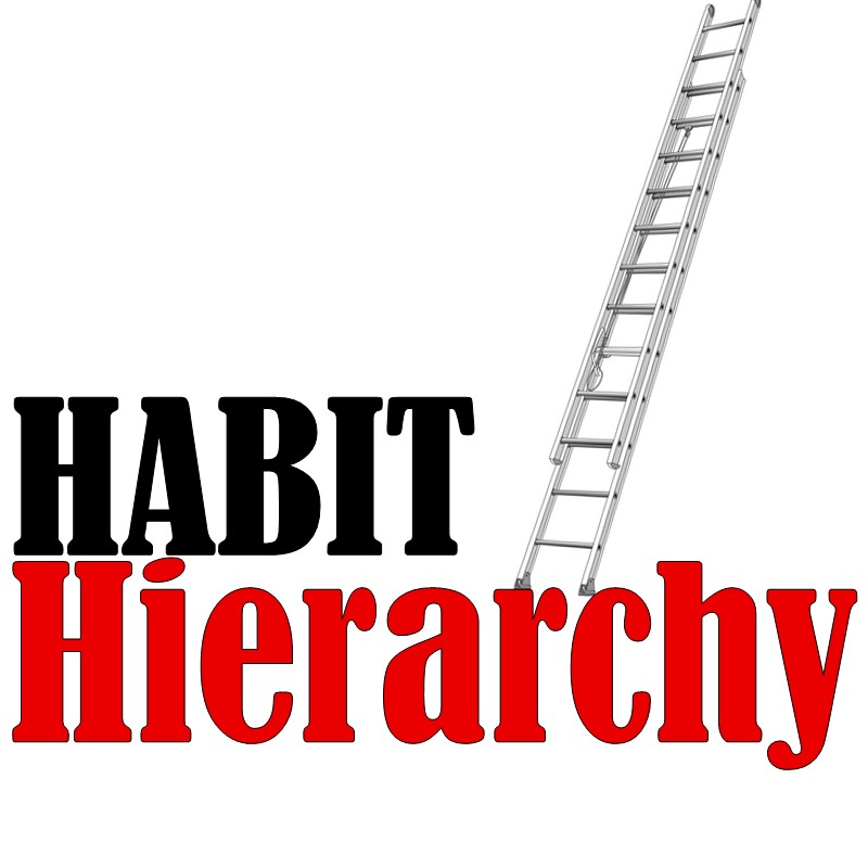 Build a Hierarchy of Habits