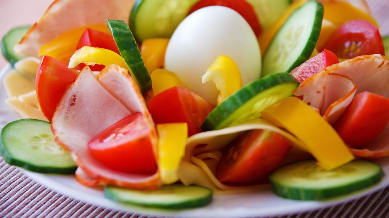 Egg & veggies